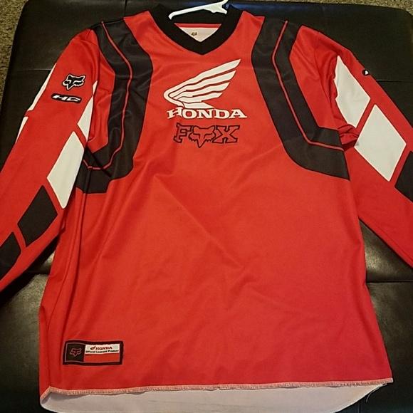 7ce4bc147 Fox Shirts | Xl Honda Motocross Jersey | Poshmark